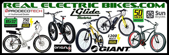 Real Electric Bikes.com - super cool electric pedal assist bicycles or all types
